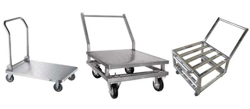 آشنایی با ترولی حمل و انواع آن - ترولی حمل میز و صندلی بنکوییت بنکوئیت ترالی