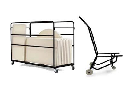 ترولی حمل میز و صندلی بنکوییت - آشنایی با ترولی حمل و انواع آن