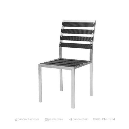 صندلی باغی آلومینیومی مخصوص هتل رستوران کافی شاپ - مبلمان پاندا