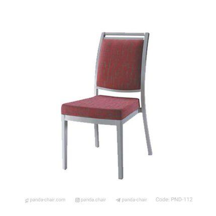 صندلی بنکوئیت فلزی مخصوص هتل رستوران تالار - مبلمان پاندا