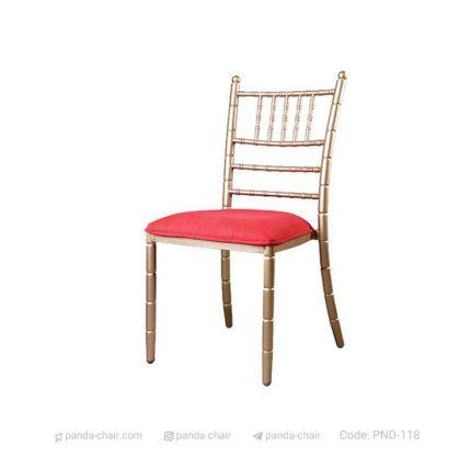 صندلی تالاری شیواری مخصوص هتل رستوران تالار - مبلمان پاندا