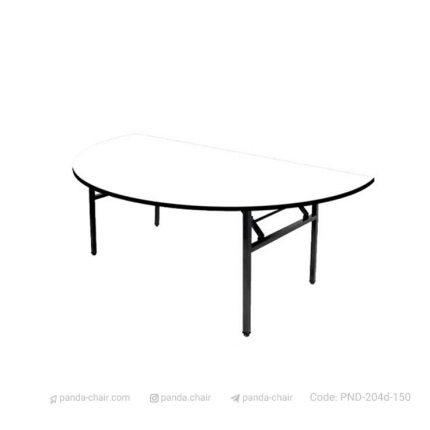 میز غذاخوری بنکوئیت پایه تاشو مخصوص هتل رستوران تالار - مبلمان پاندا