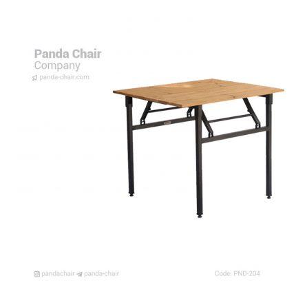 میز - میز تاشونده - میز پایه تاشونده - میز صفحه ترموود - میز پایه تاشونده ترموود