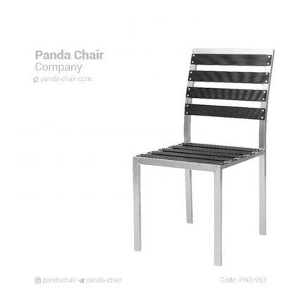 صندلی فضای باز بدون دسته - صندلی فضای باز - صندلی باغی - صندلی باغی و فضای باز - صندلی آلمینیومی