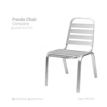 صندلی آلومینیومی بدون دسته - صندلی فضای باز - صندلی باغی - صندلی باغی و فضای باز - صندلی آلمینیومی