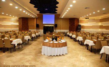 پروژه تالار ضیافت مشهد - تولیدی پاندا - مبلمان پاندا -Mashhad Banquet Hall project
