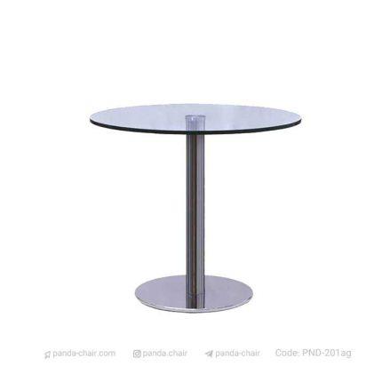 میز رستورانی صفحه شیشه ای مخصوص هتل رستوران کافی شاپ - مبلمان پاندا