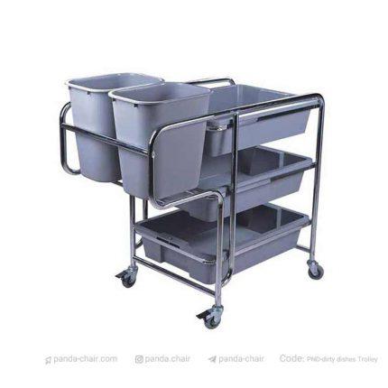 مبلمان پاندا - ترولی حمل و جمع آوری ظروف کثیف